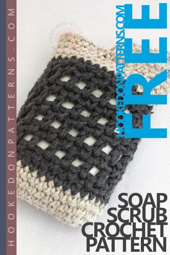 Soap Scrub Free Crochet Pattern