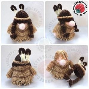 Native Gonk Outfit Crochet Pattern