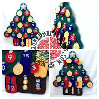 Advent Christmas Tree Crochet Pattern