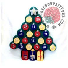 Advent Christmas Tree Crochet Pattern