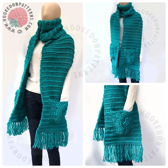 Super Chunky Textured Scarf