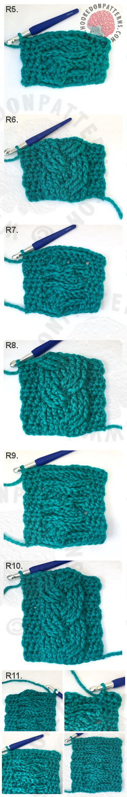 Free Super Chunky Scarf Crochet Pattern