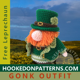 Free Leprechaun St Patricks Day Crochet Pattern