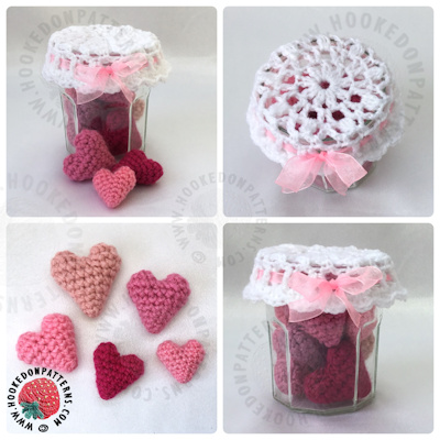 Jar of Hearts Crochet Pattern