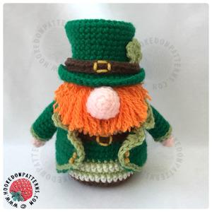 St. Patrick s Day Leprechaun Gonk - Hooked On Patterns e8af6a91a1c