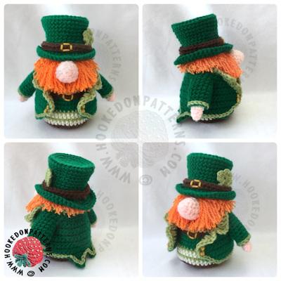 St Patricks Day Leprechaun Gonk Outfit Free Crochet Pattern 9c7b2022e07