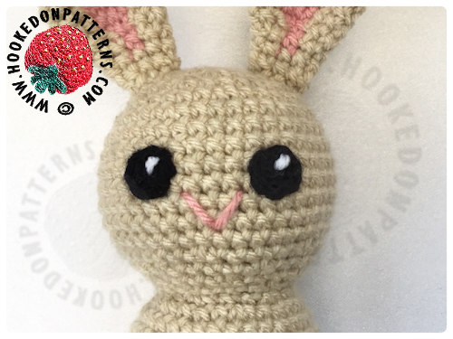 Free Crochet Bunny Pattern Kawaii Bunnies Hooked On Patterns