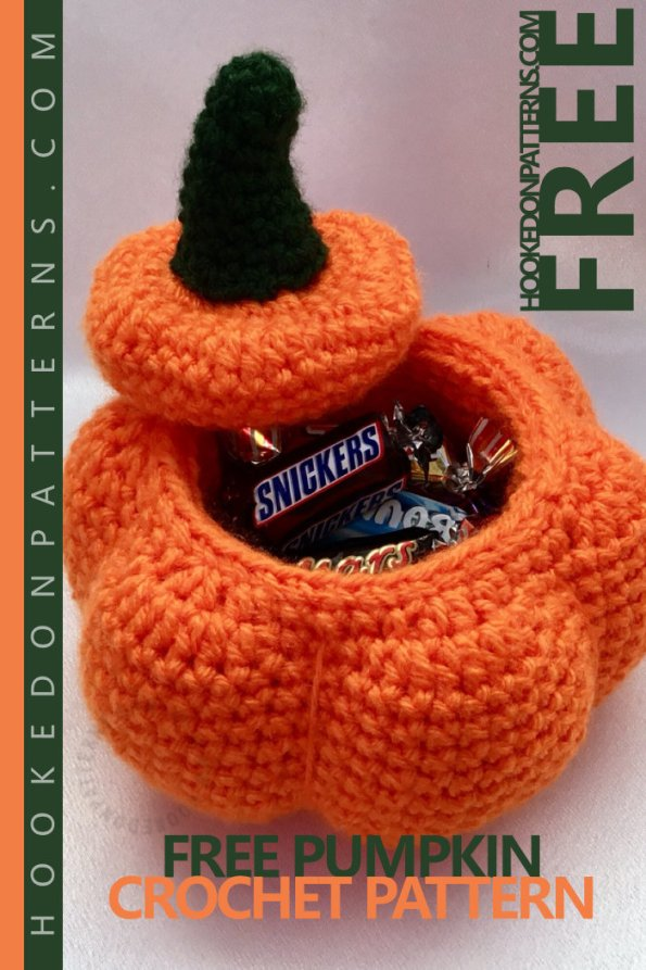 Free Crochet Pumpkin Pattern Hooked On Patterns