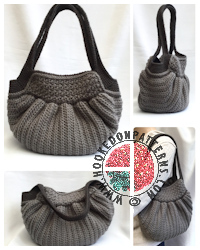 Crochet Patterns to Wear -Audrey Hobo Bag