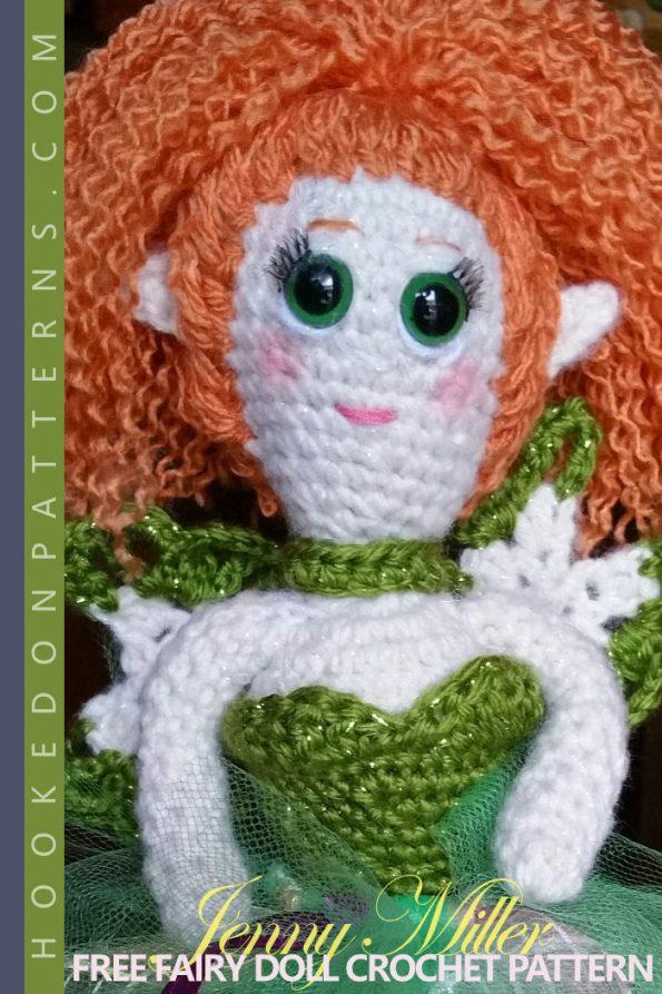 Free Fairy Doll Crochet Pattern Hooked On Patterns