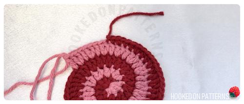 Free Crochet Spiral Coasters Pattern