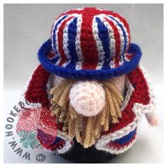 Free Royal Wedding Crochet Gonk Pattern