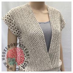 Crochet Sleeveless Top - Leora