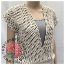 Crochet Sleeveless Top Leora Summer Top Pattern