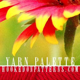 Colour Scheme #3 Beautiful Butterfly Yarn Palette Selection