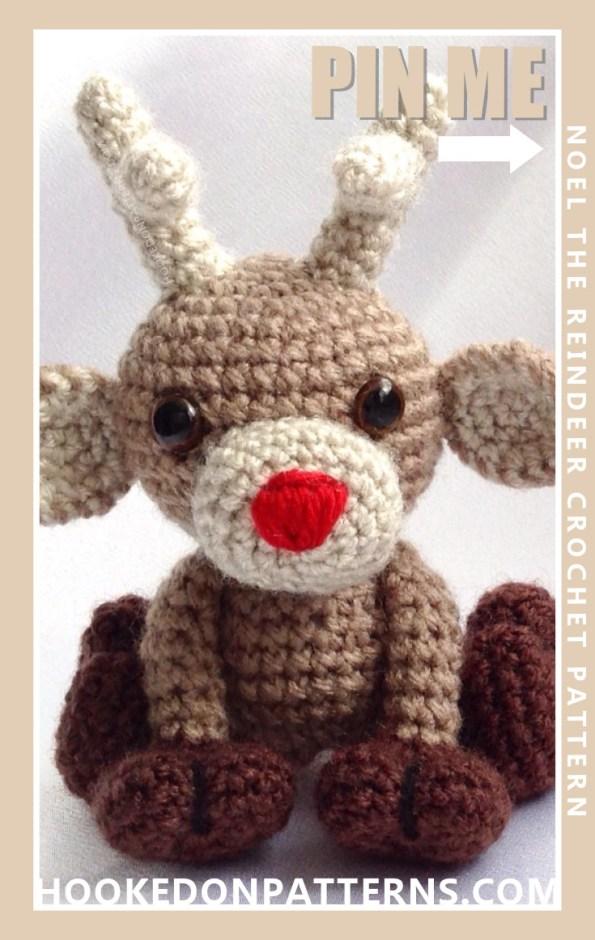 Reindeer Crochet Pattern - Noel - Hooked On Patterns