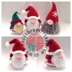 Santa Gonk Crochet Pattern Ad Pic