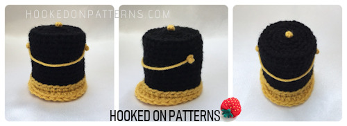 A Nutcracker style tall hat to fit the original Santa Gonk