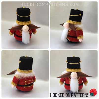 Christmas Nutcracker Gonk Free Outfit