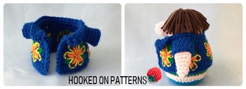 Tourist Gonk Crochet Pattern image of the Hawaiian Shirt