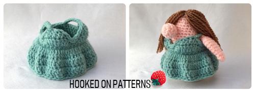Vacation Gonk Crochet Pattern image of Eve's Sundress