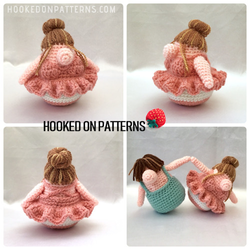 Free Ballerina Outfit Crochet Pattern For Eve Gonk