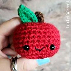 Free Adorable Apple Crochet Pattern