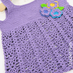 Bouquet Baby Top Crochet Pattern