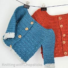 Bubbly Baby Cardigan Crochet Pattern