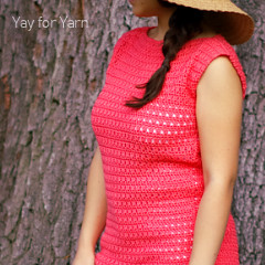 Free Women's Crochet Patterns: Easy Summer Tee Crochet Pattern