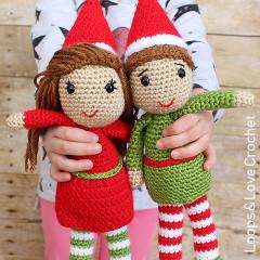 Elf Amigurumi Crochet Pattern