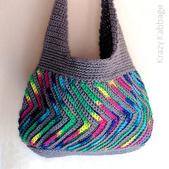 Fast-forward Chevron Purse Free Crochet Pattern
