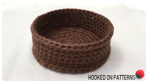 Free Sunflower Basket Crochet Pattern Finished Basket Base