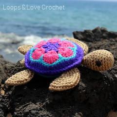 Honu the Sea Turtle Free Crochet Pattern