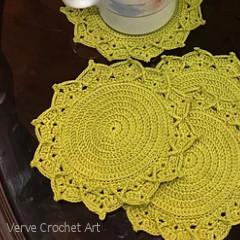 Leilani Coasters Crochet Pattern