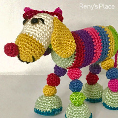 Quirky Puppy Crochet Pattern