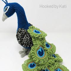 Regal the Peacock Crochet Pattern