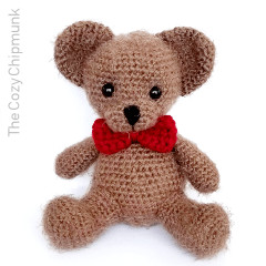 Snuggles the Bear Crochet Pattern
