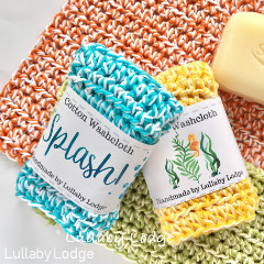 Splashtime Washcloth Crochet Pattern