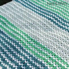 Spring to Life Free Blanket Crochet Pattern