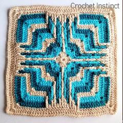 Free Star Portal Granny Square Crochet Pattern