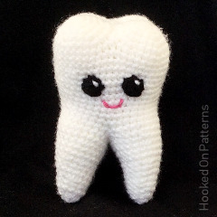 Tooth Buddy Free Crochet Pattern