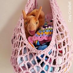 Free Toy Hammock Crochet Pattern