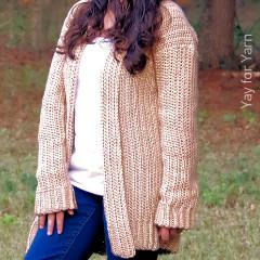Free Crochet Cardigan Patterns: Comfy Cozy Cardigan Crochet Pattern