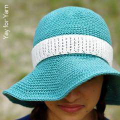 Free Crochet Dress Patterns: Summer Sunhat Free Crochet Pattern