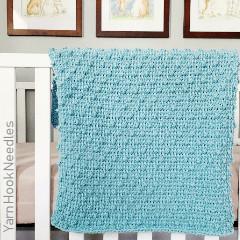 Tunisian Bobble Blanket Free Crochet Pattern