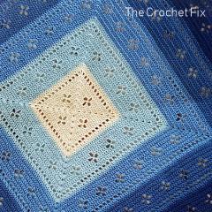 Vintage Vibes Blanket Free Crochet Pattern