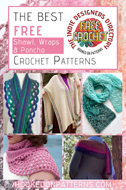Free Shawls, Wraps, and Poncho Crochet Patterns