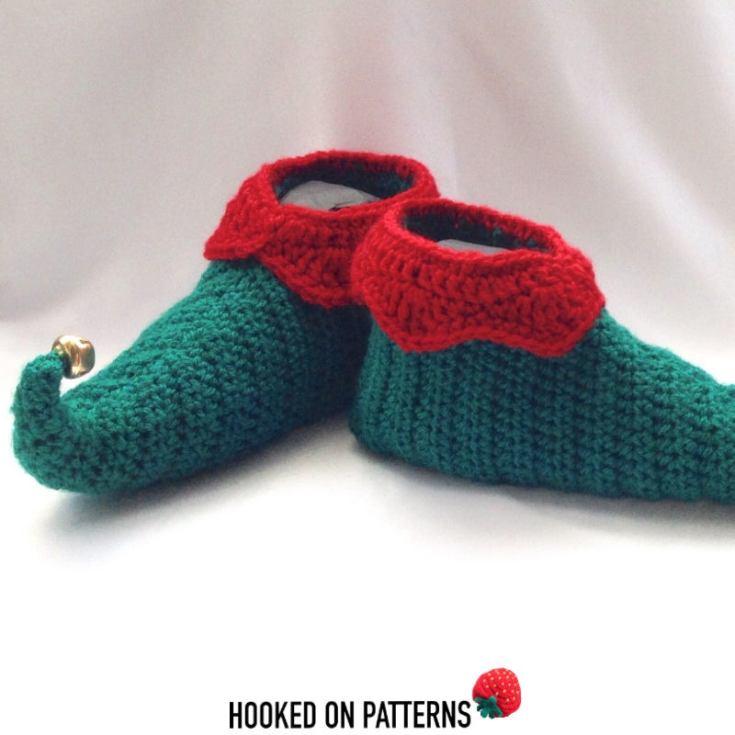 Elf Slipper Shoes Crochet Pattern
