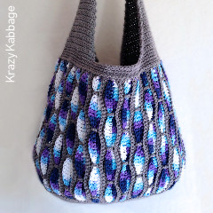 Feather Storm Tote Bag Free Crochet Pattern